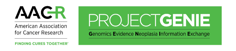 AACR Project GENIE