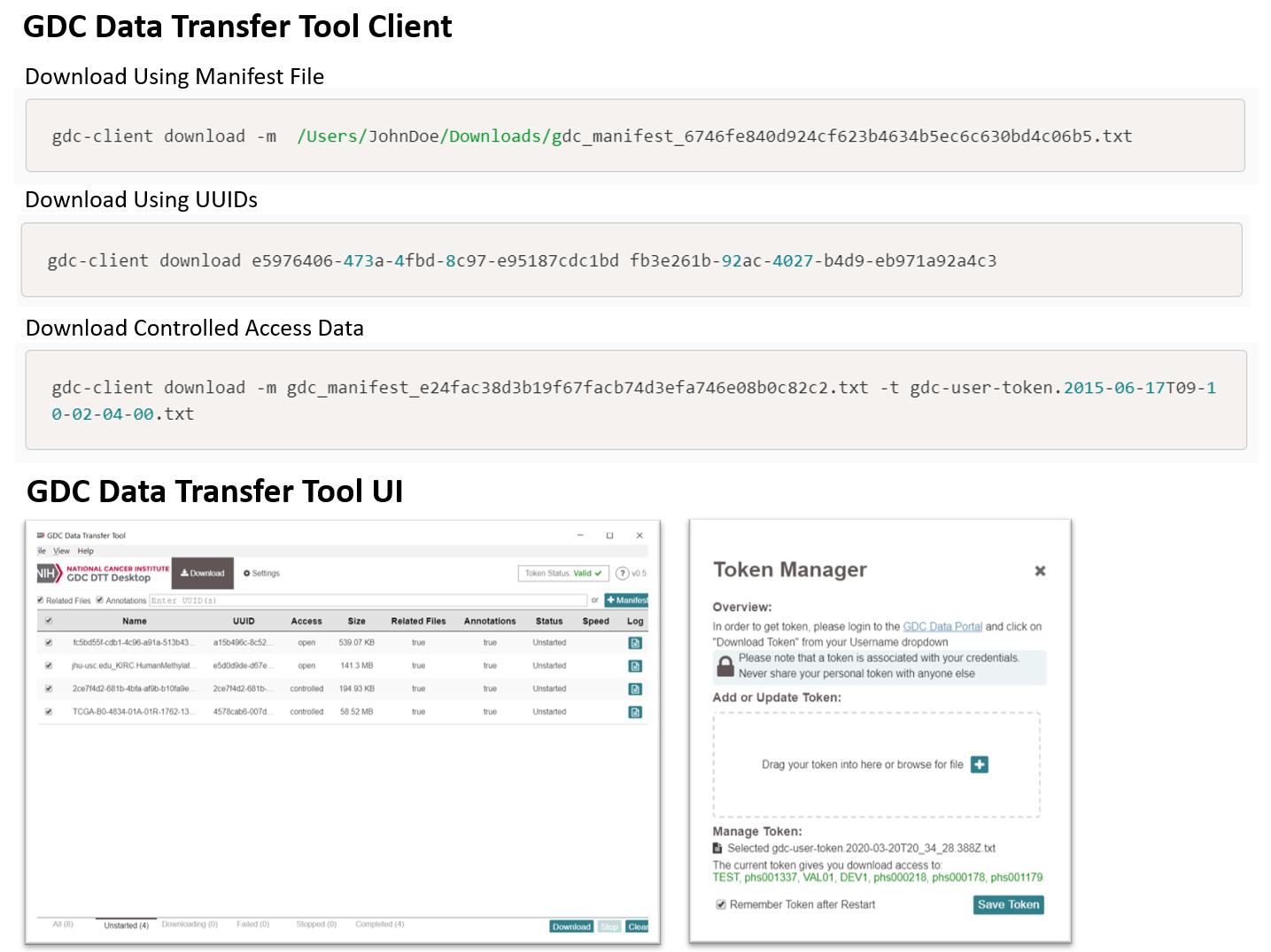 GDC Data Transfer Tool (DTT)