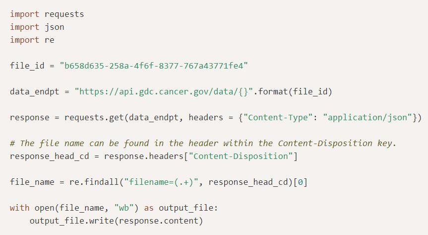 GDC API